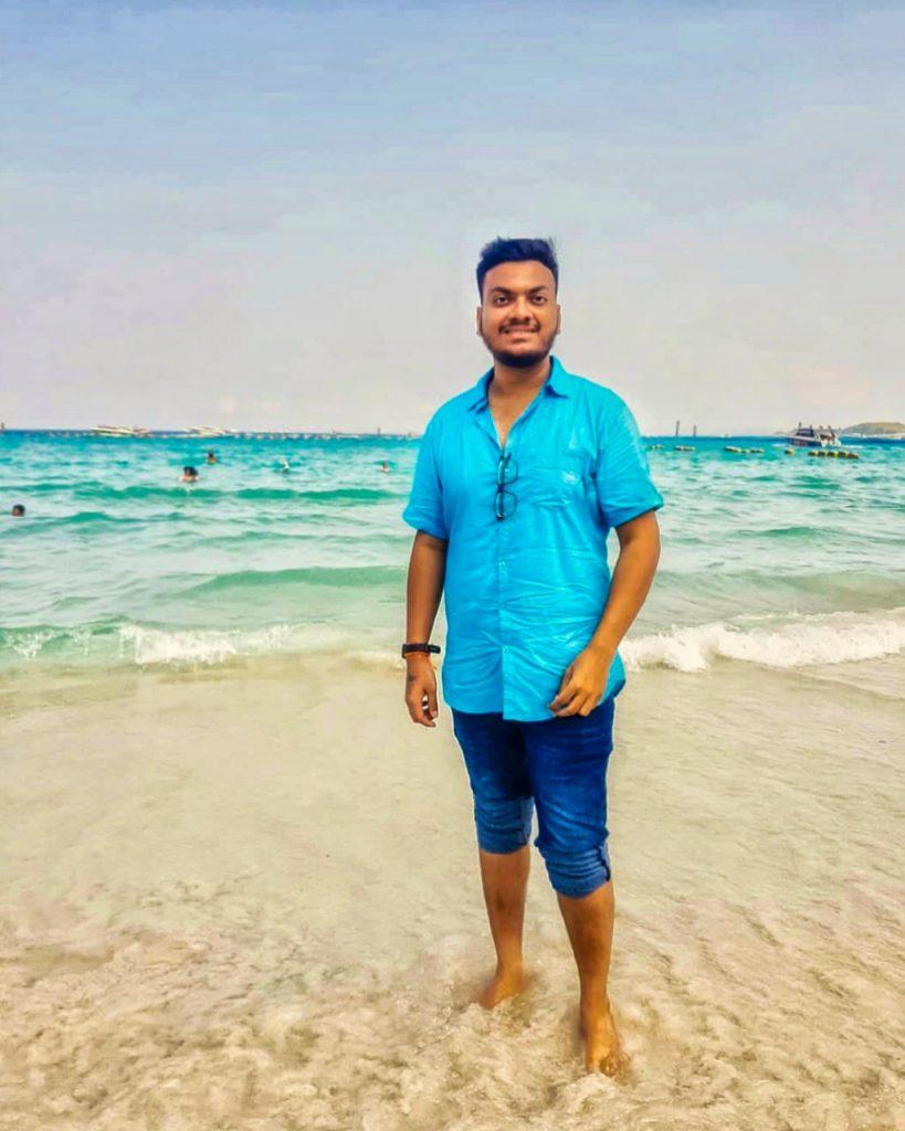 prathamesh avachare, beach, thai beach, pattaya, onlyprathamesh
