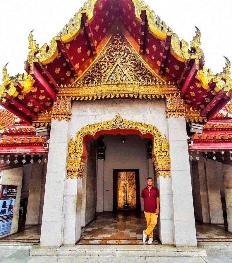 prathamesh avachare, rejoicing in amazing thailand, buddhist temple, thailand, onlyprathamesh
